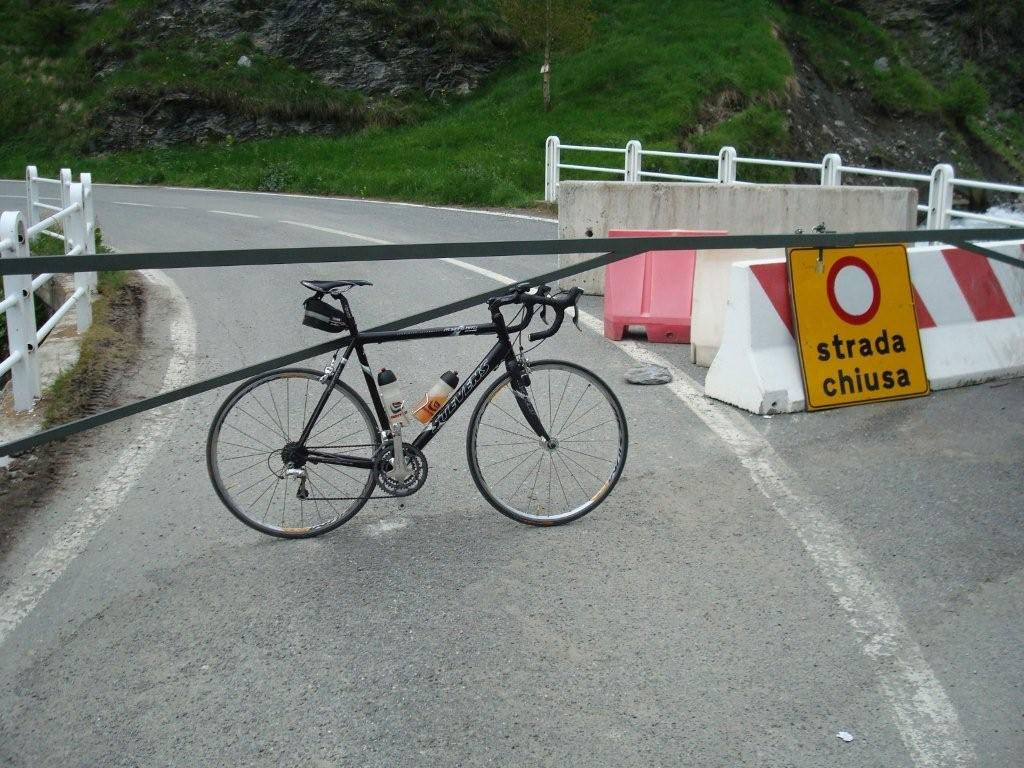 col agnel by bicycle